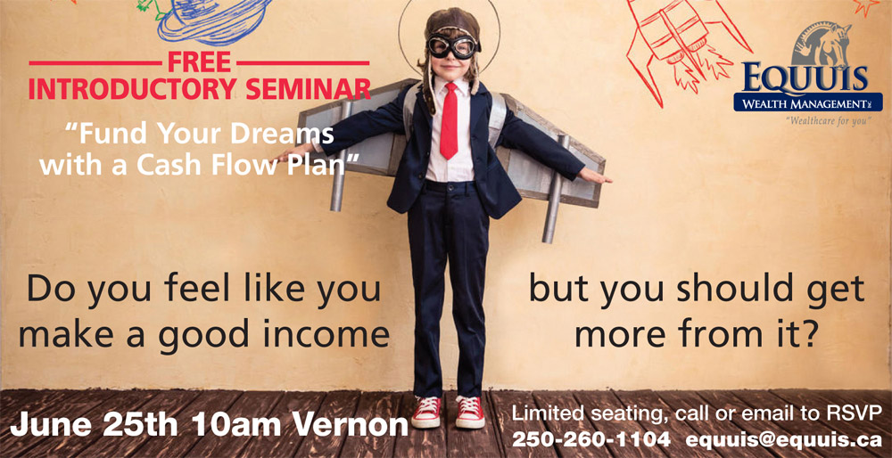 Free cash flow planning seminar in Vernon, BC